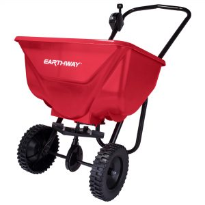 65 LB COMMERCIAL BROADCAST SPREADER WITH POLY TIRES