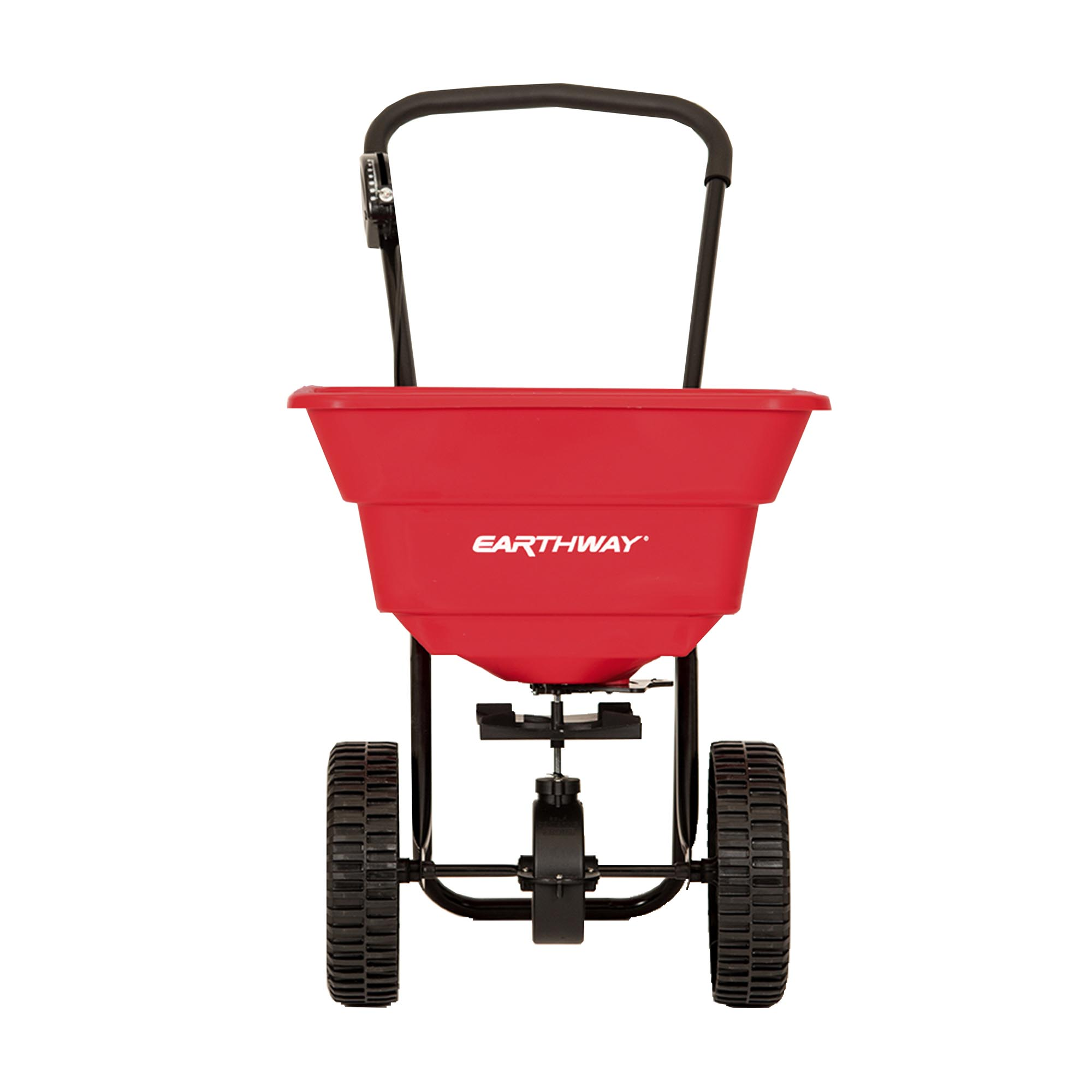 80 LB COMMERCIAL BROADCAST SPREADER WITH POLY TIRES