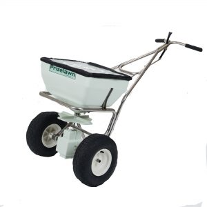 PRIZELAWN 70 LB STAINLESS STEEL BROADCAST SPREADER