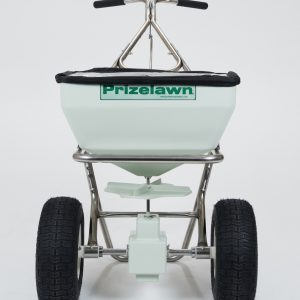 PRIZELAWN 70LB STAINLESS STEEL BROADCAST SPREADER