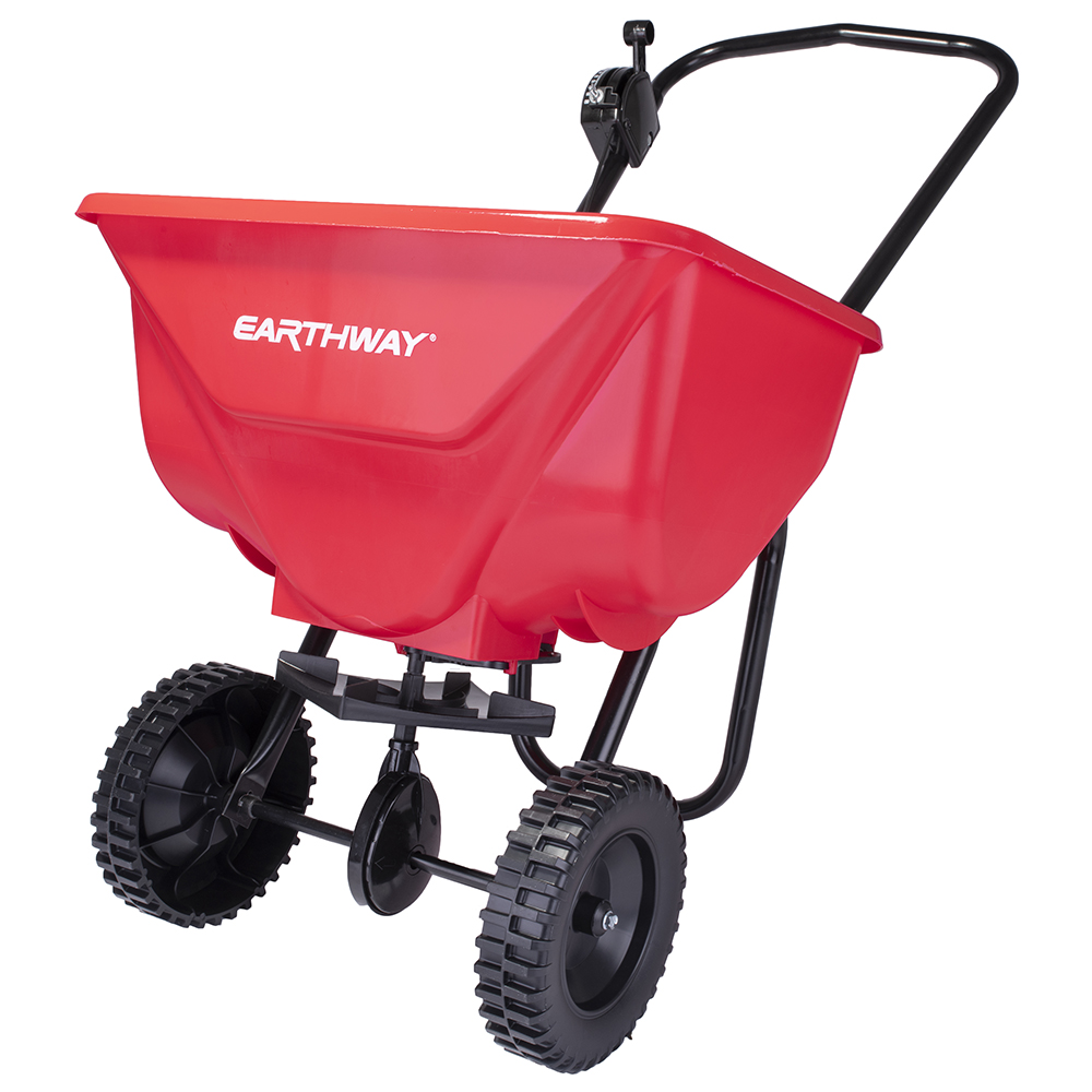 65LB BROADCAST SPREADER w/Poly Tires