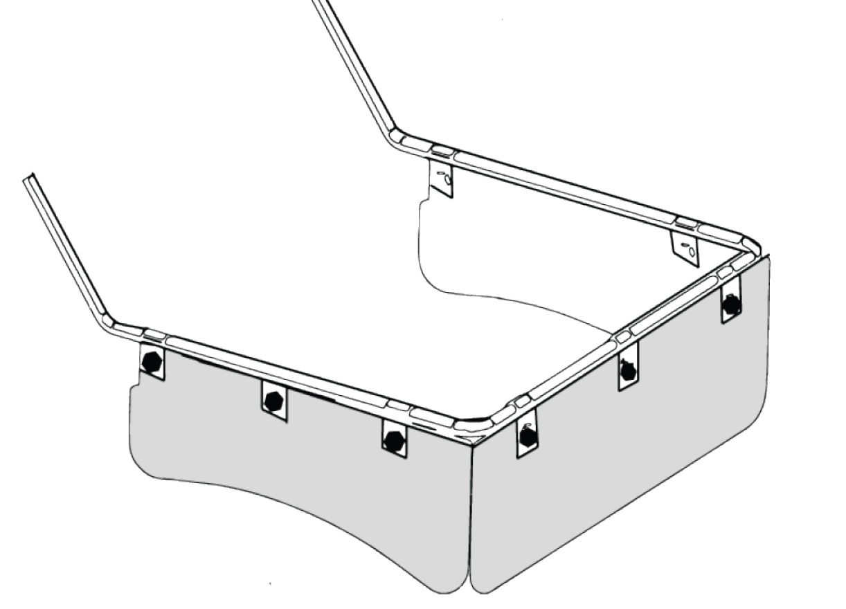 60600 Commercial Deflector Assembly
